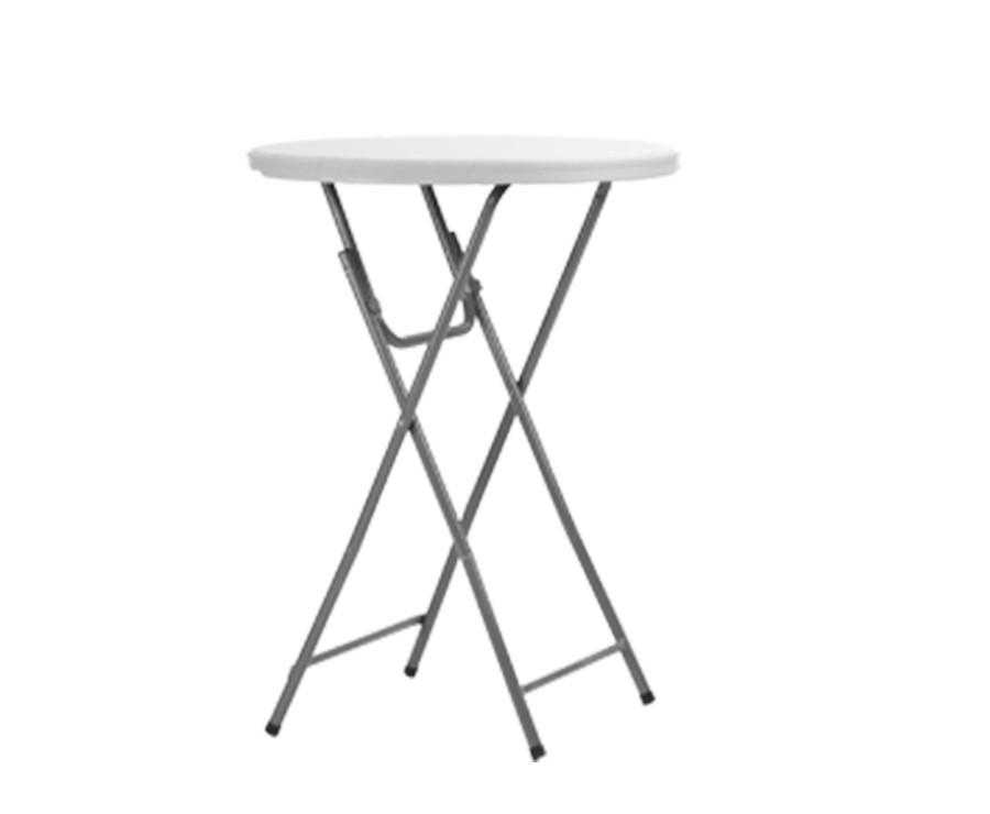 Table haute cocktail ronde 81cm