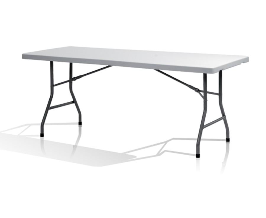 Table pliante 183cm droite