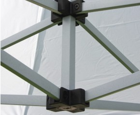 Barnum pliant métal gamme SEMI PRO connexion