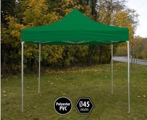 Tente pliante pas chère PVC verte