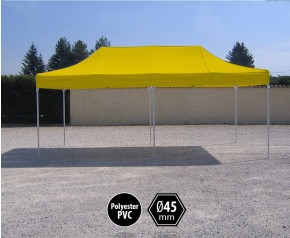 Promo tente pliante alu 3x4.5 jaune