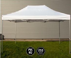 Tente pliante PRO+ 55 aluminium 3x4,5m blanc HD