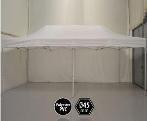 Tente pliante PRO aluminium 3x6m blanc HD