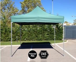 Tonnelle pliante PRO aluminium 3x3m vert