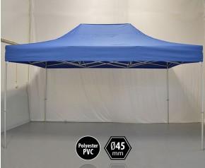 Tonnelle PRO aluminium 3x45m bleu HD