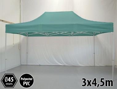 Tonnelle pliante PRO aluminium 3x45m vert
