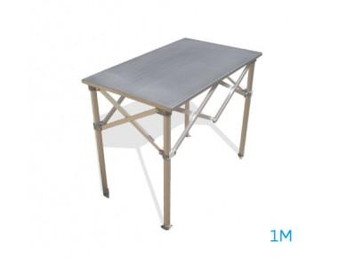 Table aluminium 1m
