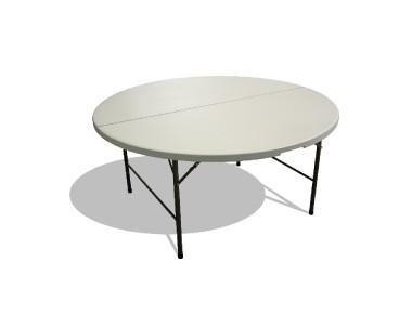 Table ronde pliante 150cm