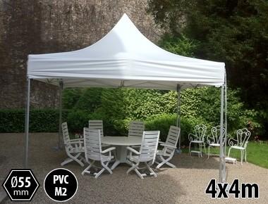 Tente pliante alu 4x4 toit PVC 550g/m²