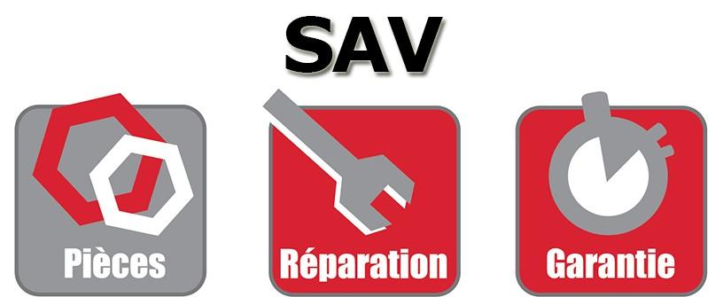 Suivi SAV barnum pliant pièces détachées