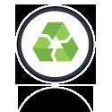 produit totalement recyclable